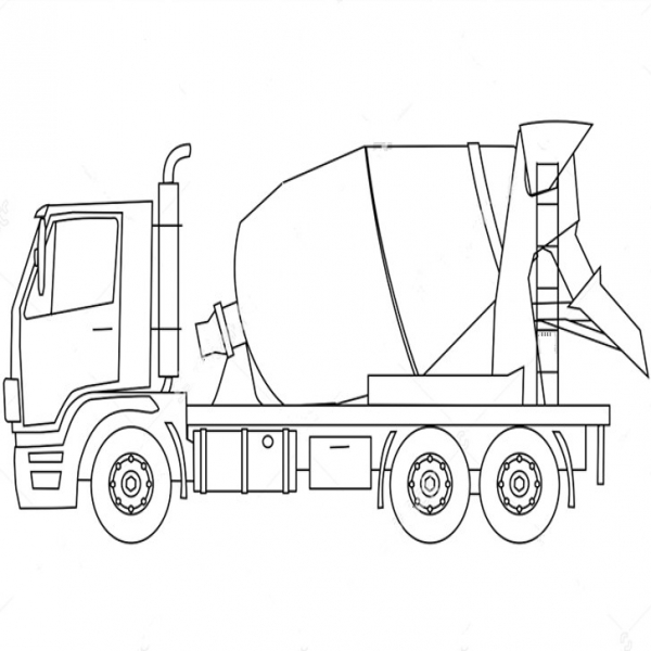 Concrete Mixer Truck Onboard Scales