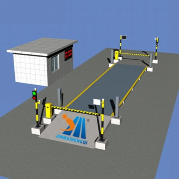 Unmanned Truck Scale/Weighbridge System - Uganda